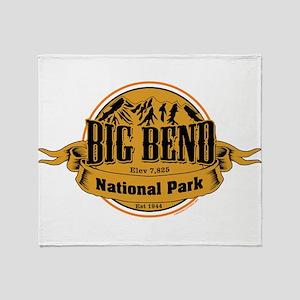 Big Bend, Texas Throw Blanket