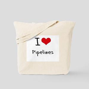 I Love Pipelines Tote Bag