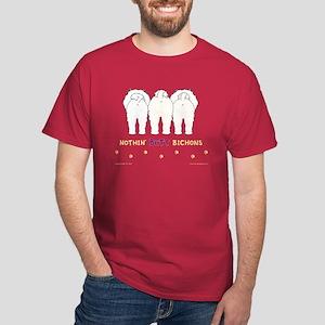 Nothin' Butt Bichons Red T-Shirt