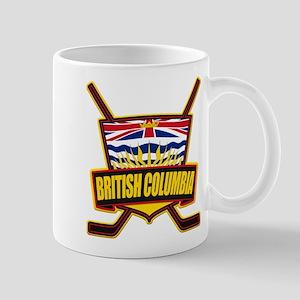 British Columbia Hockey Flag Mug