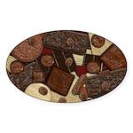 Got Chocolate? Sticker (Oval)