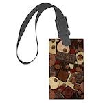 Got Chocolate? Large Luggage Tag