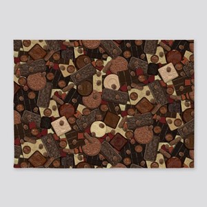Got Chocolate? 5'x7'Area Rug
