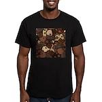 Got Chocolate? Men's Fitted T-Shirt (dark)