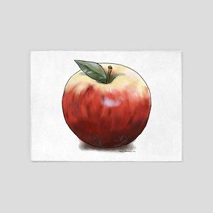 Crunchy Apple 5'x7'Area Rug