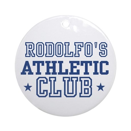 Rodolfo Ornament (Round)
