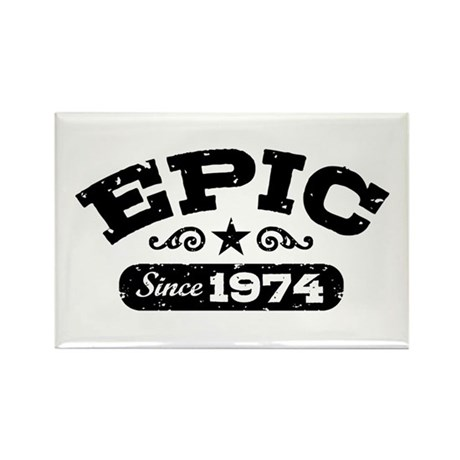 Epic Since 1974 Rectangle Magnet