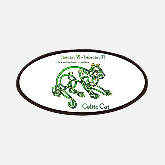 Celtic Cat Patches