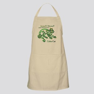 Celtic Cat Apron