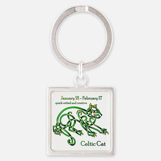 Celtic Cat Keychains
