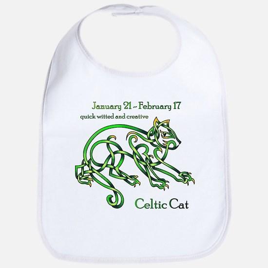 Celtic Cat Bib