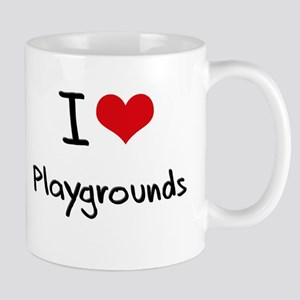 I Love Playgrounds Mug