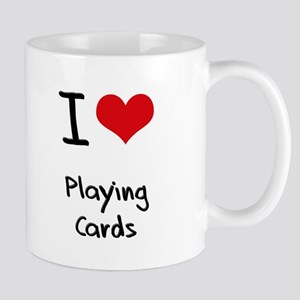 I Love Playing Cards Mug