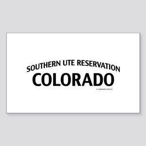 Southern Ute Reservation Colorado Sticker
