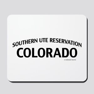 Southern Ute Reservation Colorado Mousepad