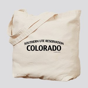 Southern Ute Reservation Colorado Tote Bag