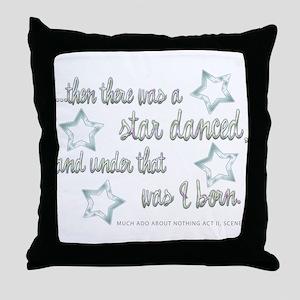 A Star Danced Throw Pillow