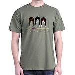 Nothin' Butt Boston Terriers Green T-Shirt