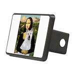 card-Mona-Akita2 Rectangular Hitch Cover