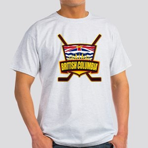 British Columbia Hockey Flag T-Shirt