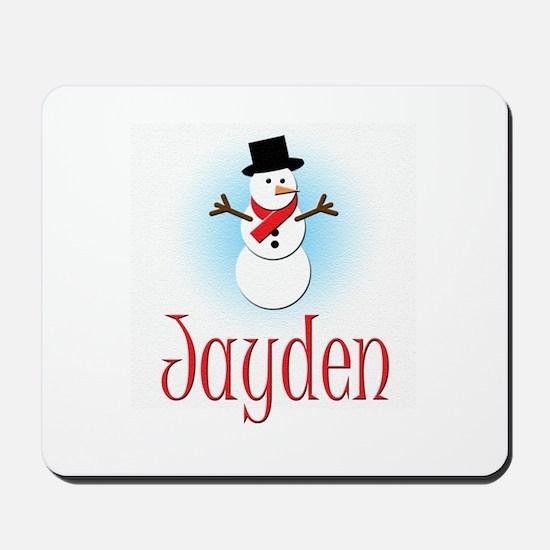 Snowman - Jayden Mousepad