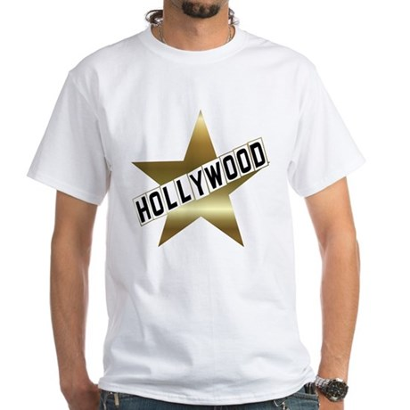 Hollywood In California Hollywood Walk Of Fame T-shir pz98s