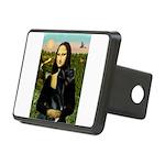 16x20-Mona-BlkGDane-nat Rectangular Hitch Cover