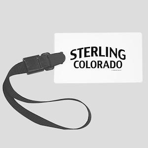 Sterling Colorado Luggage Tag