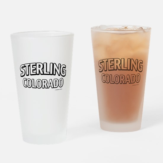Sterling Colorado Drinking Glass