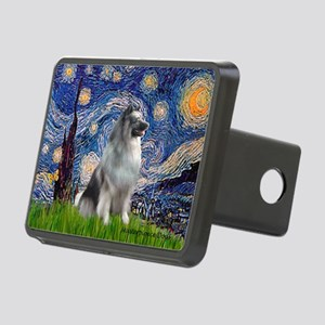 5.5x7.5-Starry-keeshond Rectangular Hitch Cove