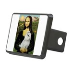 CARD-Mona-Maltese6 Rectangular Hitch Cover