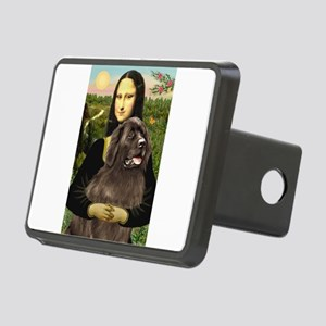 MONA-Newfie-Brown2.... Rectangular Hitch Cover