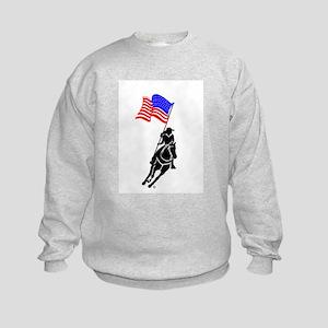 Flag Rider Kids Sweatshirt
