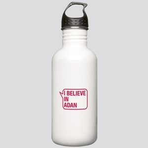 I Believe In Adan Water Bottle