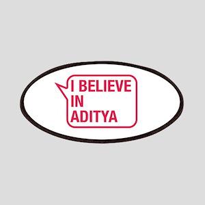 I Believe In Aditya Patches