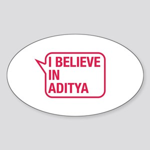 I Believe In Aditya Sticker