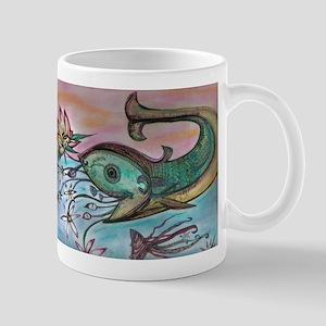 happy fish Mug
