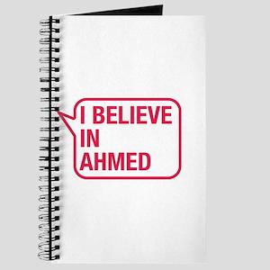 I Believe In Ahmed Journal