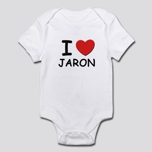 I love Jaron Infant Bodysuit