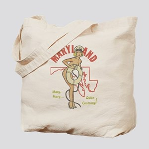 Faded Maryland Pinup Tote Bag