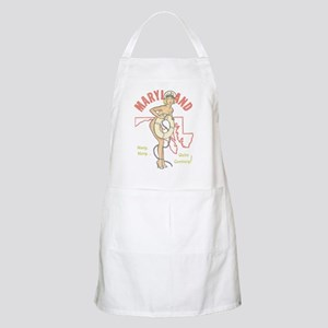 Faded Maryland Pinup Apron