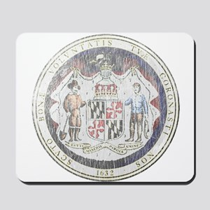Maryland Vintage State Seal Mousepad