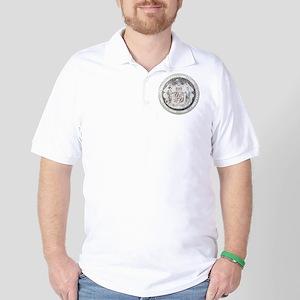 Maryland Vintage State Seal Golf Shirt