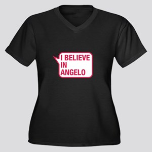 I Believe In Angelo Plus Size T-Shirt