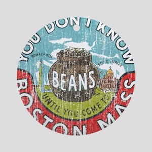 Boston Baked Beans Ornament (Round)