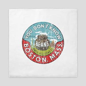 Boston Baked Beans Queen Duvet