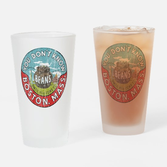 Boston Baked Beans Drinking Glass
