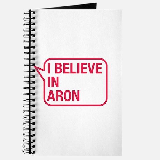 I Believe In Aron Journal