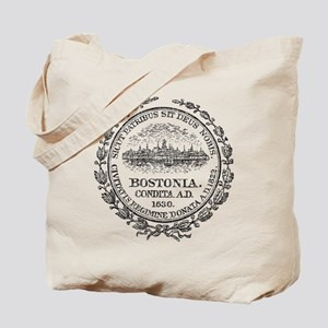 Vintage Boston Seal Tote Bag