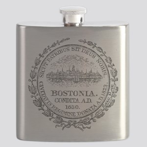 Vintage Boston Seal Flask